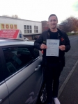 James Robson passed with Horsforth Driving School