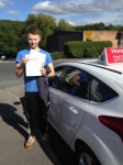 Brad King passed with Horsforth Driving School