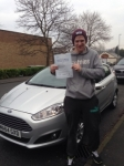 Luke Walsh passed with Horsforth Driving School