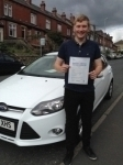Jack Johnson passed with Horsforth Driving School