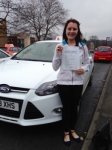 Jamie Bywater passed with Horsforth Driving School