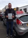 David Williams passed with Horsforth Driving School