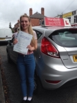Chloe Kay passed with Horsforth Driving School