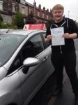 Luke Spendlove passed with Horsforth Driving School