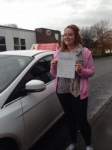 Rachel Pollard passed with Horsforth Driving School
