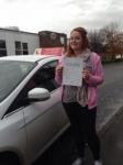Rachel Pollard passed with Horsforth Driving School