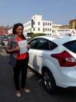Aisha Chipampe passed with Horsforth Driving School