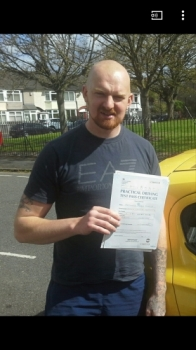 Ant passed on 25417 with Garry Arrowsmith Well done