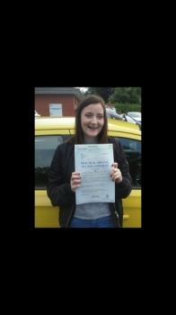 Carly Seaton passed on 25717 with Garry Arrowsmith Well done<br />
