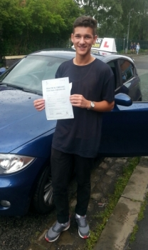Jacob passed on 10614 with Martin Garfoot Well done <br /> <br /> <br /> <br /> Jacob saysI had a great time learning to drive with Martin and passed first time A really good instructor that helped me all the way through Thank you so much Martin youve been great<br /> <br />
