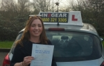 Ellie Phillips  passed with IN2GEAR Stafford