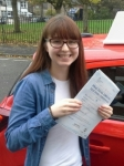Katie Fone passed with IN2GEAR Stoke