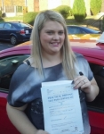 Anna Brooks passed with IN2GEAR Stoke