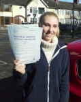 Joanne Brigham passed with IN2GEAR Stoke