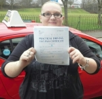 Gemma Moorehouse passed with IN2GEAR Stoke