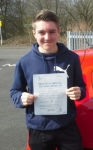 Callum Robertson passed with IN2GEAR Stoke