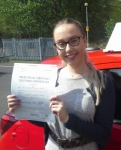 Eleanor Fraser passed with IN2GEAR Stoke