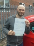 Neil Rawlings passed with IN2GEAR Stoke