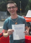 Adam Pritchard  passed with IN2GEAR Stoke
