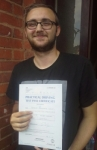 George Lewis passed with IN2GEAR Stoke