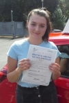 Amy Wild passed with IN2GEAR Stoke