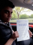 Gulam Chaudrey passed with IN2GEAR Stoke