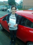 Abbi Firkins passed with IN2GEAR Stafford