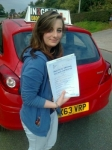 Becky Brunt passed with IN2GEAR Stafford