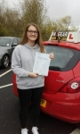 Becky Hawley  passed with IN2GEAR Stafford