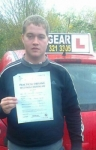 Ben Hodkinson passed with IN2GEAR Stafford