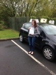 Caroline Stone passed with IN2GEAR Stafford
