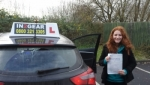 Charlotte Davies passed with IN2GEAR Stafford