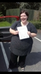 Claire Shaw passed with IN2GEAR Stafford