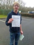 Dan Deakin passed with IN2GEAR Stafford