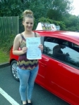 Emelia Maddox passed with IN2GEAR Stafford