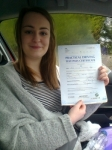Emma Hart passed with IN2GEAR Stafford