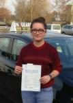 Fran Critchley passed with IN2GEAR Stafford