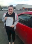 Gemma passed with IN2GEAR Stafford