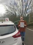 Hannah Porter passed with IN2GEAR Stafford