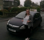 Hannah Robinson passed with IN2GEAR Stafford