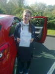 Harriet Harding passed with IN2GEAR Stafford