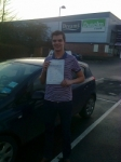 Harry Hyde -Farrington passed with IN2GEAR Stafford