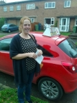 Hayley Potts passed with IN2GEAR Stafford