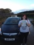 Hazel Jackson passed with IN2GEAR Stafford