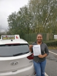 Danielle Garrington-Miller passed with IN2GEAR Stafford