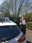 Kyra Atkins passed with IN2GEAR Stafford
