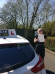 Kyra Atkins passed with IN2GEAR Stoke