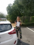 Lauren Reilly passed with IN2GEAR Stoke