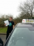 James Keen passed with IN2GEAR Stafford