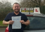 Jeremy Bridger passed with IN2GEAR Stafford